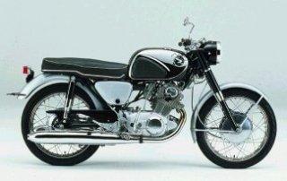1959 Honda CB72 Hawk 250