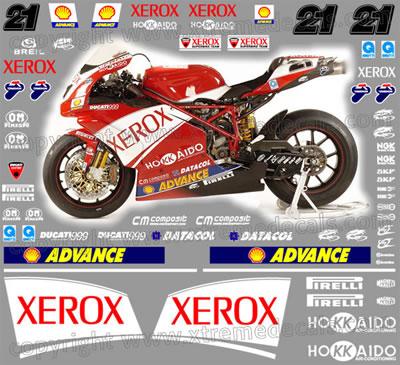 Ducati 2006 Xerox Racebike kit