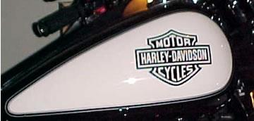 Harley Davidson Tank Decals Pair