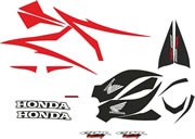Honda CBR 600RR decal and Graphics kit 2007 Model