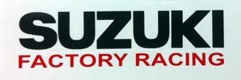 Suzuki Factory Racing decal