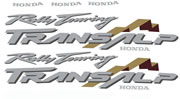 Honda Transalp Decal set 2000 2001 2002