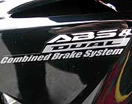 ABS Decal for Honda VFR 800 left side 3 colour