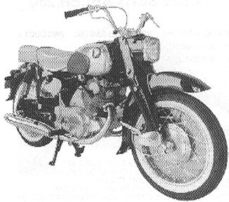 CA72 Dream Touring 250 - Early