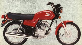CB125S'84