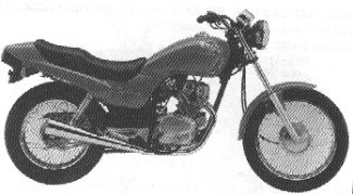 1991 Honda CB250'91 Nighthawk
