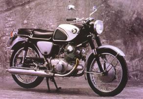Honda CB72 Hawk 250