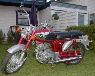 Honda Touring CD125