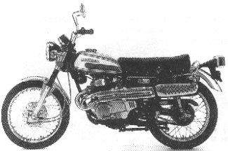 Honda CL200 Scrambler 200