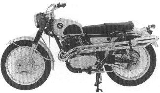 Honda Scrambler 305 CL77