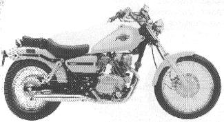 CBX250C'97 Rebel