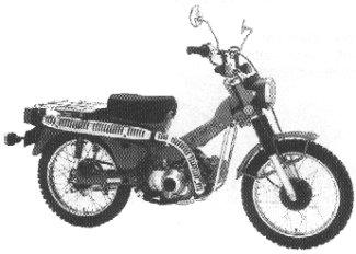 1980 Honda Trail 110