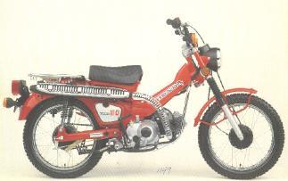 1983 Honda Trail 110