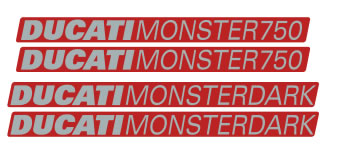 Ducati Monster 750 Decal set