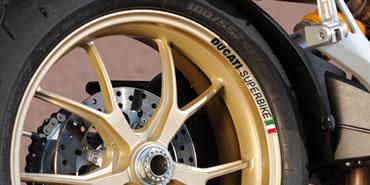 Ducati Superbike Rim Decal set