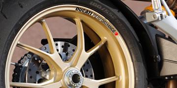 Ducati Performance Rim Decal set  2 Colour