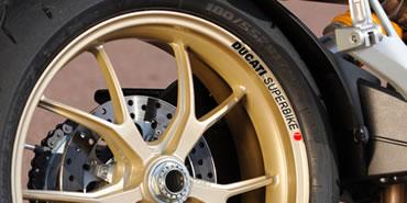Ducati Superbike Rim Decal set  2 Colour