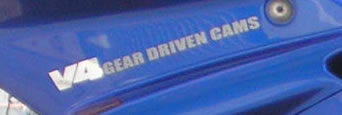 Honda V4 GEAR DRIVEN CAMS left 2 Colour
