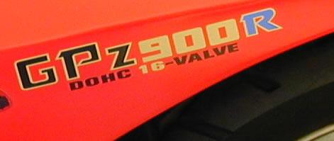 Kawasaki GPZ 900R Decal