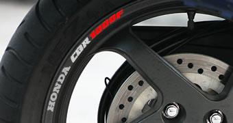 Honda CBR 1000F Rim Decal set