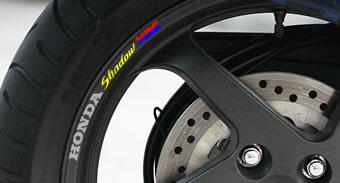 Honda Shadow HRC Rim Decal set