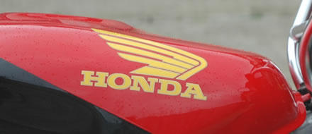 Honda Wings 2 colour decal
