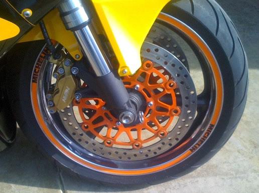 Wheel Rim Decal Kit Michelin