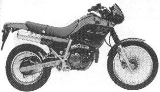 1988 Honda NX250'88