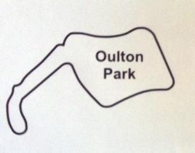 Oulton Park Circuit Map Decal
