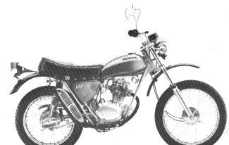 Honda SL100K0 Motosport