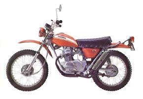 Honda SL175K0 Motosport