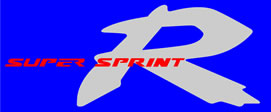 Honda R Super Sprint decal for 125  NSR 1998 Model Left 2 Colour