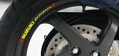 Suzuki Hayabusa  Rim Decals
