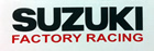 Suzuki Factory Racing decal