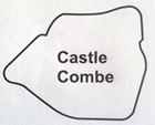 Castle Coombe Circuit Map Decal