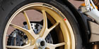 Ducati Performance Rim Decal set  2 Colour