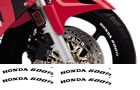 Honda Rim Decal set 600F3