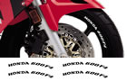 Honda Rim Decal set 600F4