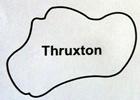 Thruxton Circuit Map Decal