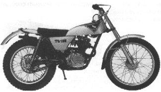 Honda TL125K0 Trials 125