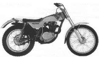 Honda Trials 250 TL250K0