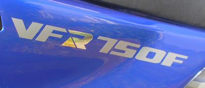 Honda VFR 750F Decal 3 Colour 1993 Model