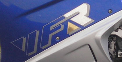 Honda VFR Decal 3 Colour 1993 Model