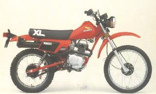 Honda XL100S'83