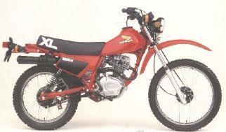 Honda XL185S'83