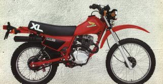 Honda XL185S'84