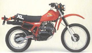 XL250R'83