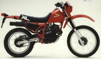 XL250R'84