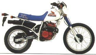 XL250R'86