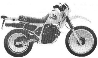 XL250R'87